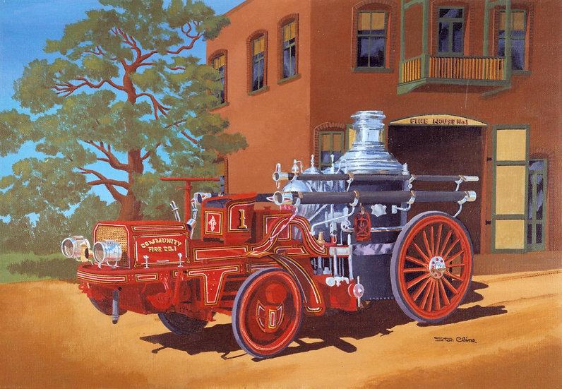 Amskog Steam Pumper (1910)
