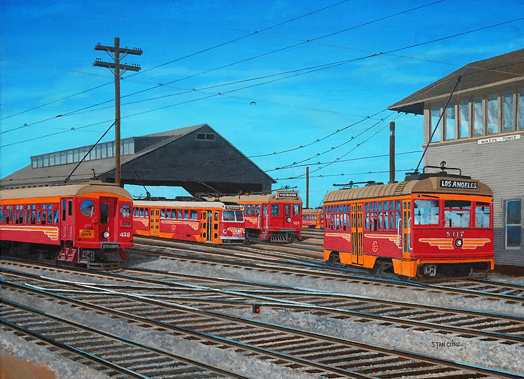 Pacific Electric Watts Yards (1952)