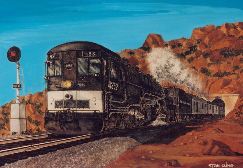 Southern Pacific Cab-Forward, Chatsworth (1950)