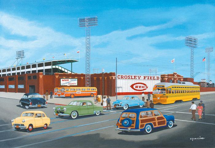 Crosley Field (Cincinnati Reds) (1951)