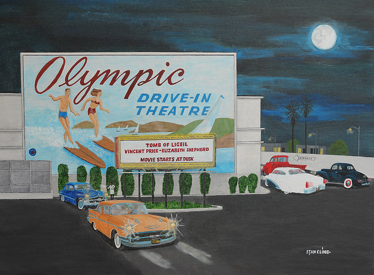 Olympic Drive-In Theater, West Los Angeles (1964)