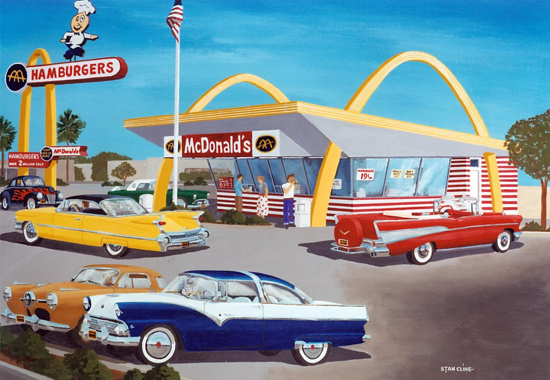 McDonalds (the last original), Downey (1959)