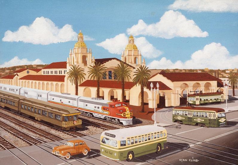 Santa Fe Depot, San Diego (1949)