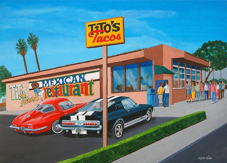 Tito's Tacos, Washington Bl., Culver City (1968)