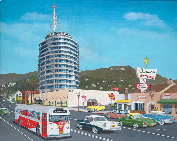 Capitol Records Tower, Hollywood (1957)
