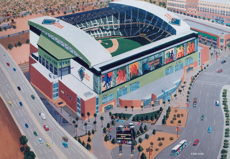 Bank One Ball Park (AZ Diamondbacks) (2001)
