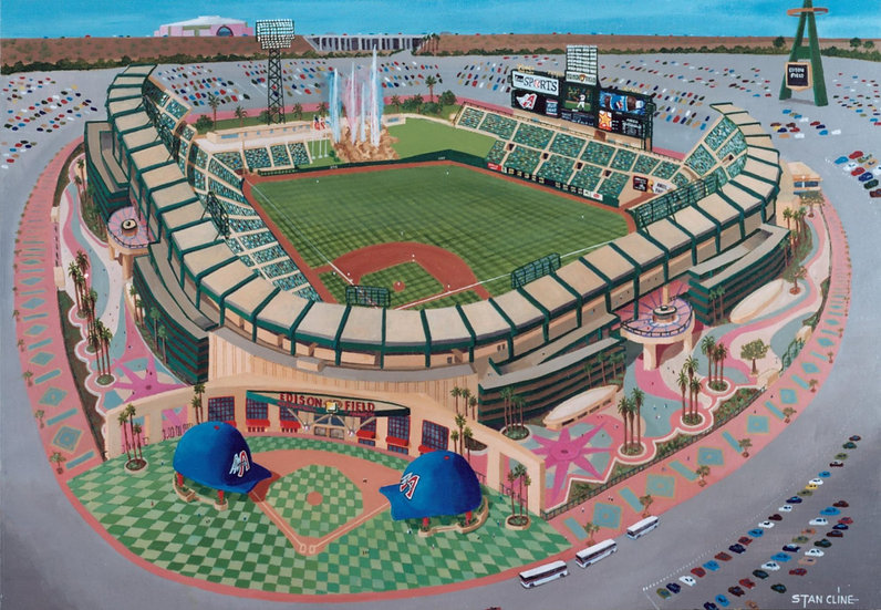 Edison Field (Anaheim Angels) (1998)