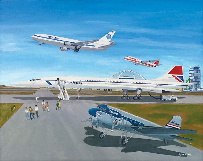 LA International Airport (Concorde) (1987)