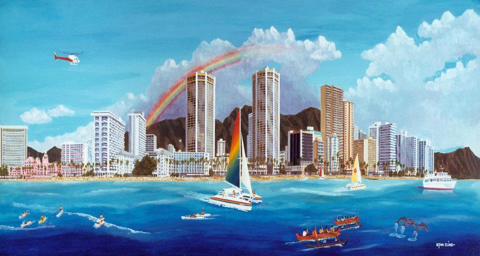 Honolulu, Waikiki Skyline (1995)
