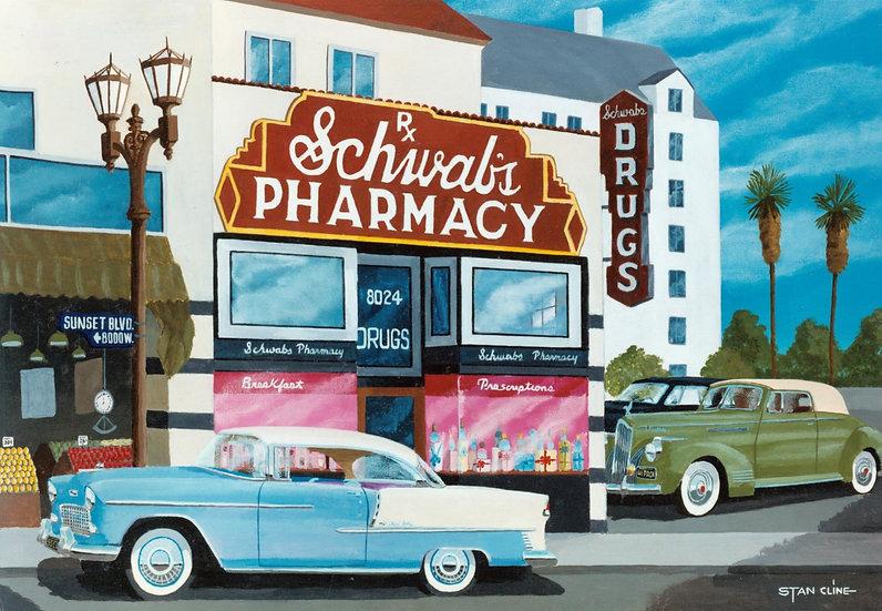 Schwab's Drug Store, Hollywood (1955)
