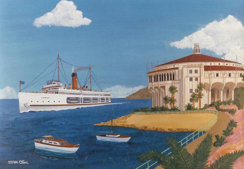 Catalina Steamer & Avalon Casino (1950)