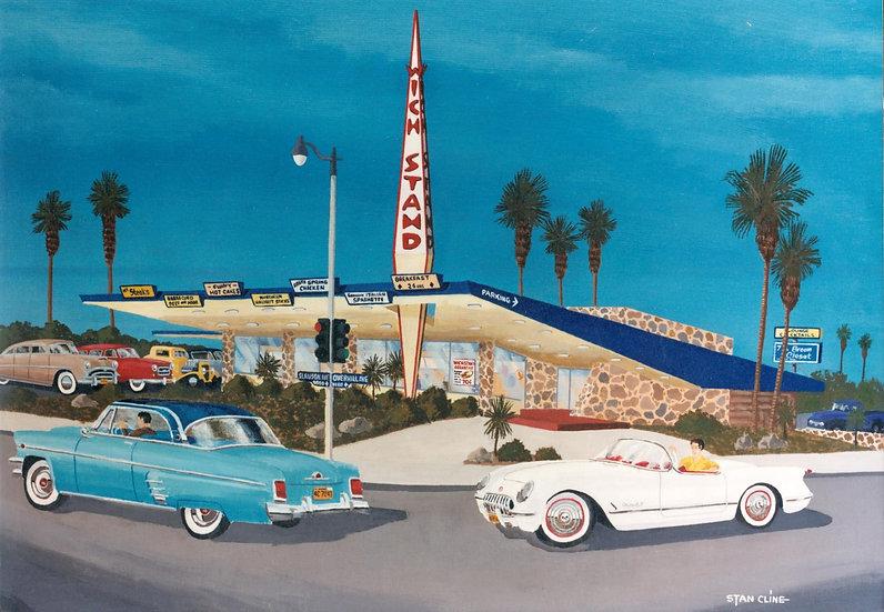 Wich Stand Drive-In (Slauson & Overhill), LA 1953