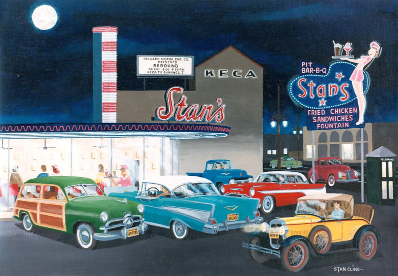 Stan's Drive-In, Hollywood (1957)