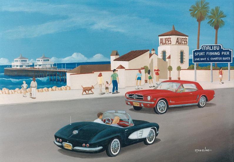 Malibu Pier, Pacific Coast HWY (1966)