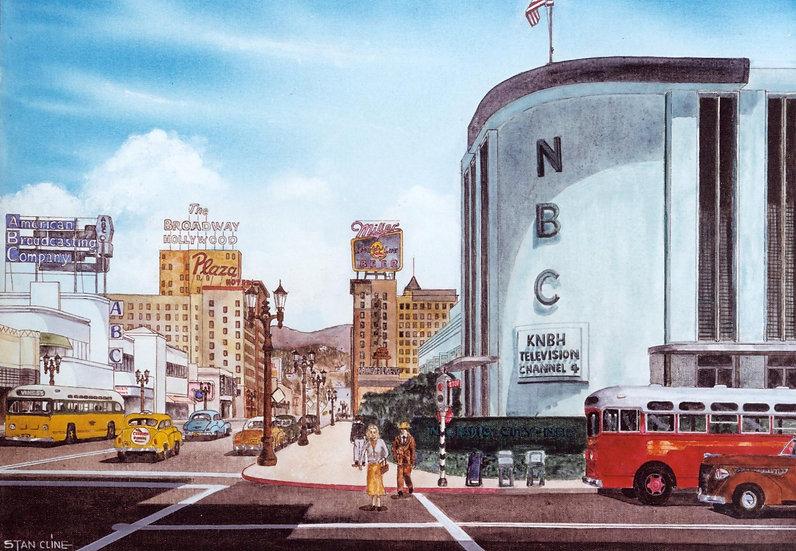 NBC Studios (Sunset & Vine) Hollywood (1949)