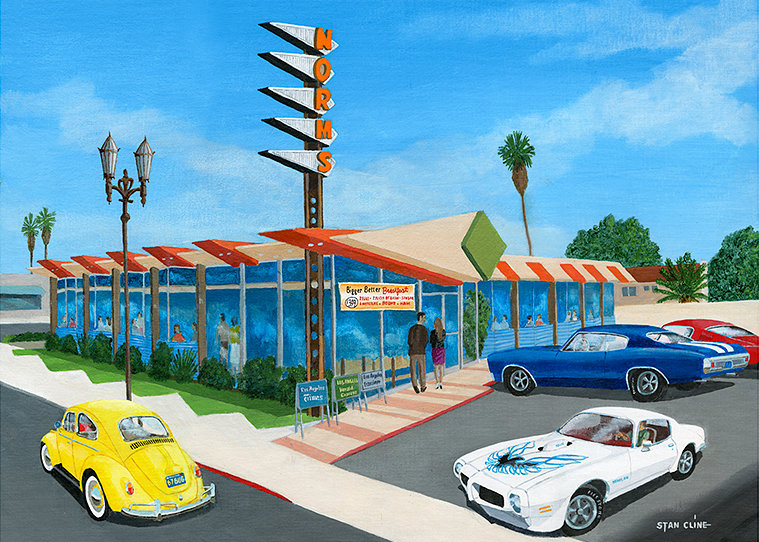 Norms, La Cienega Blvd., West Hollywood (1973)