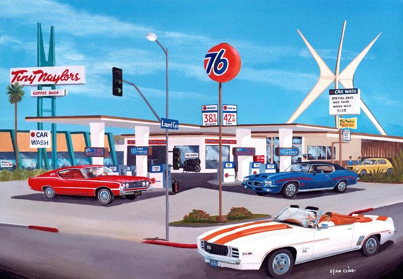 Union 76 Car Wash & Gas Station, Studio City