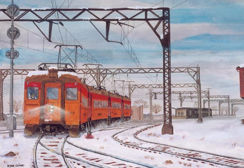 Southshore Interurban Chicago (1958)