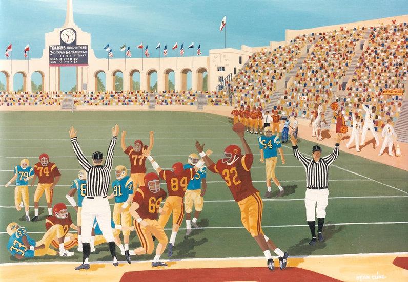USC/UCLA, LA Coliseum (1967)