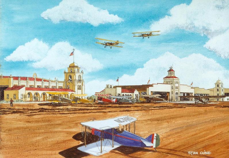 L.A. Airport (Mines Field) (1930)
