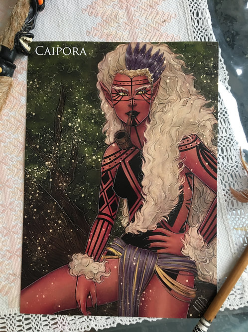 Poster A4 Caipora