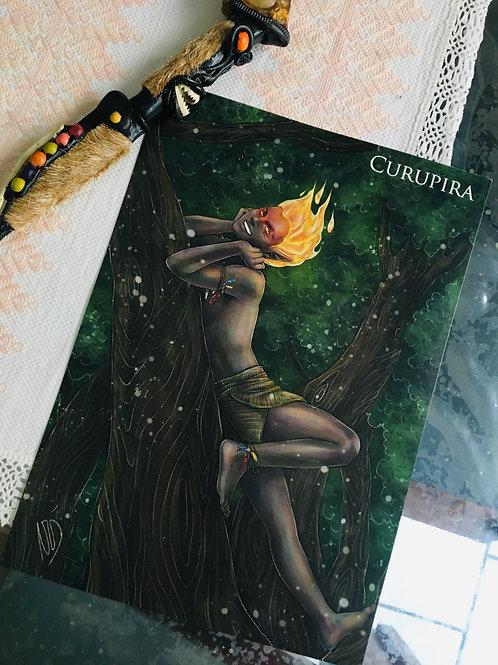 Poster A4 Curupira