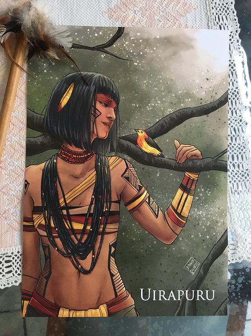 Poster A4 Uirapuru