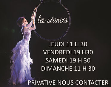 horaires spectacle