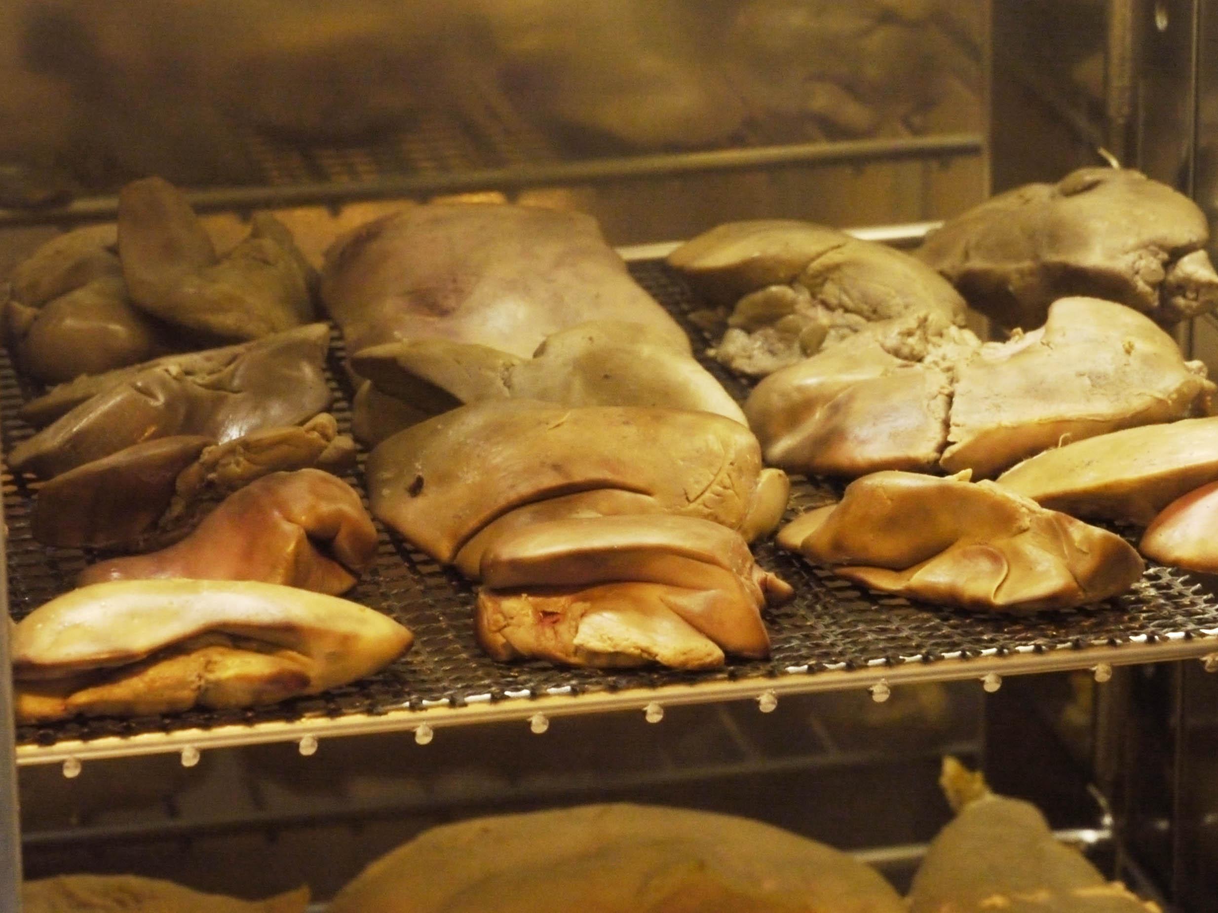 鶏レバー燻製