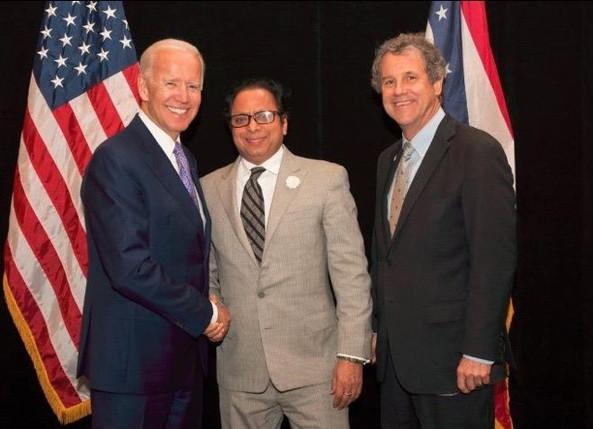 Dr. Ranjan Meets Joe Biden