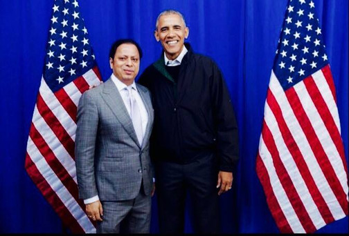 Dr. Ranjan Meets President Obama
