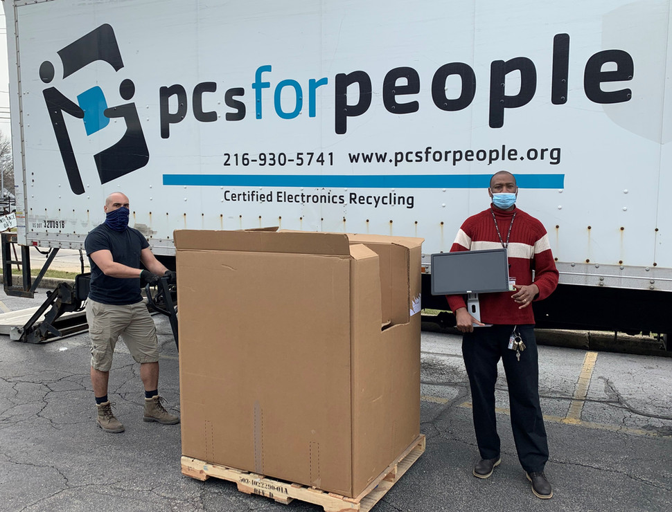Donating Computer Monitors to PCs for People