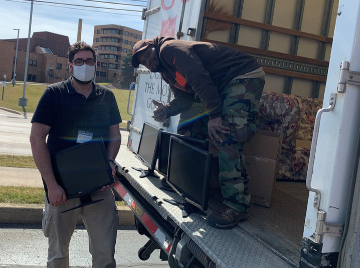Donating Computer Monitors to Salvation Army