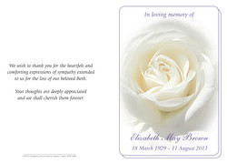 MC04 - White Rose
