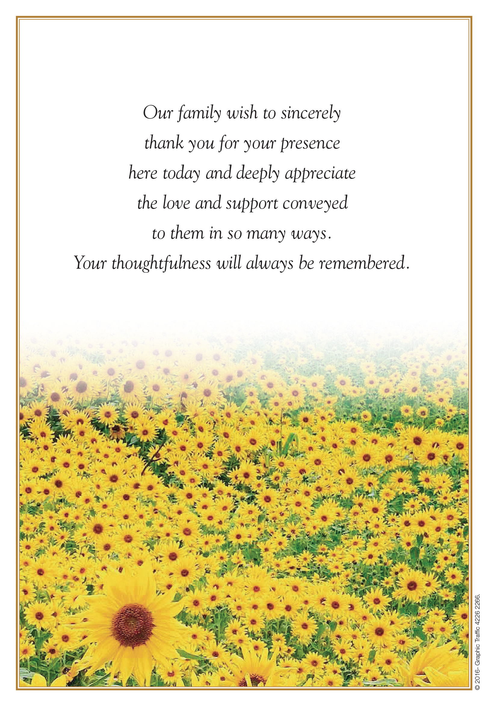 BK18 - Sunflowers (Back)