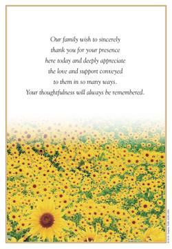 BK18 - Sunflowers (Back)