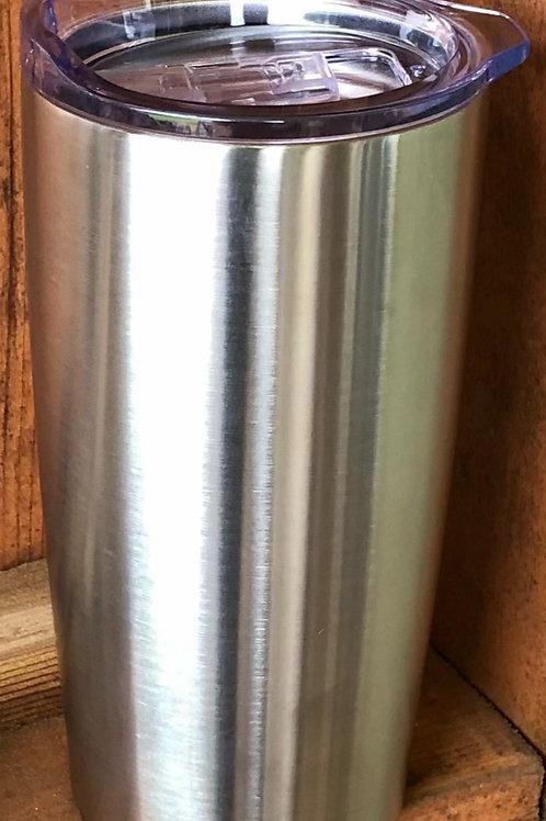 MVH Logo - 20 oz thermal glass w/lid