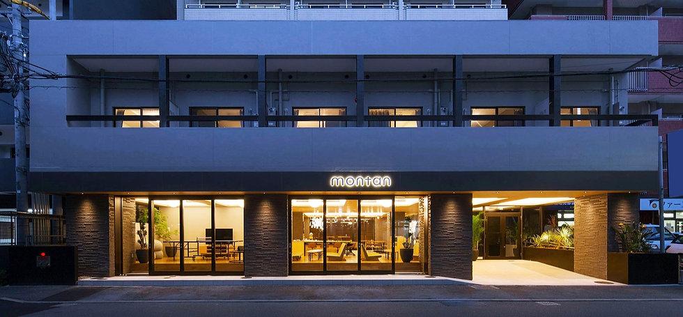 福岡市博多区にあるホテル「モンタン博多(montan HAKATA)」のアクセスページ