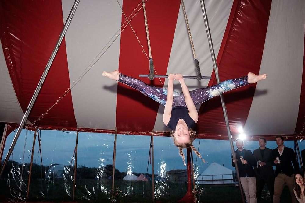 Trapeze Artist Nadine
