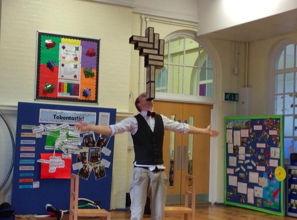 primary schools circus workshops