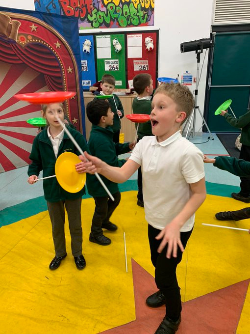 Circus Skills Workshops for World Book Day
