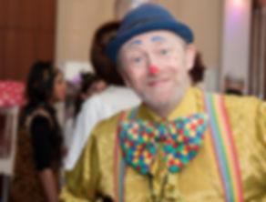 amazing birthday party clown