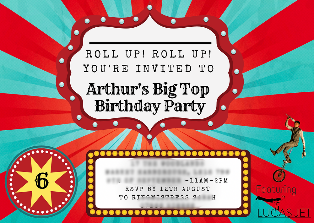 Circus Theme Parties | Children's Entertainer | Children's Parties | United Kingdom