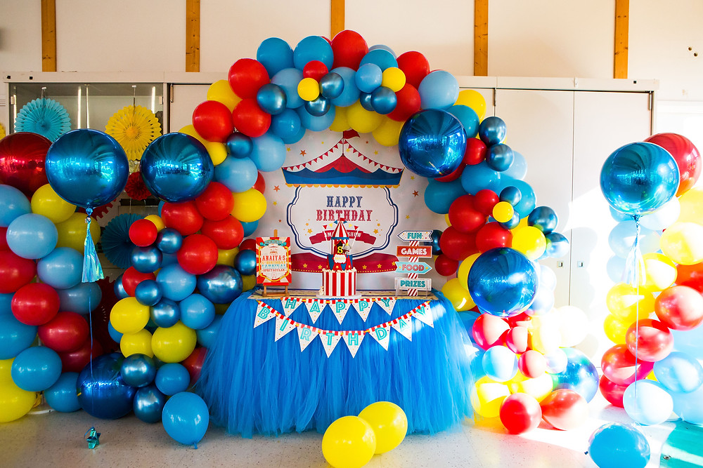 Balloon Decor for a Kids Party in London