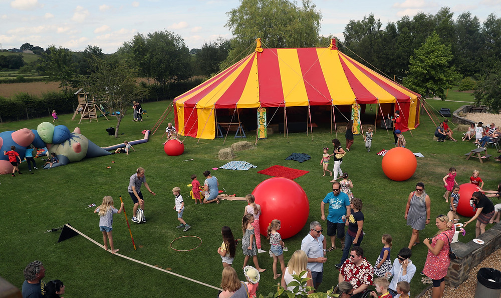 big top circus party