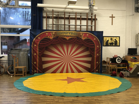 The Circus is coming to a primary school near you!