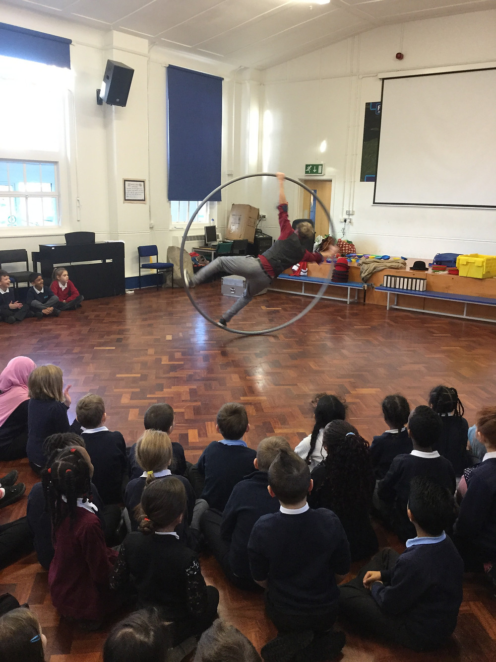 circus performer for primary school