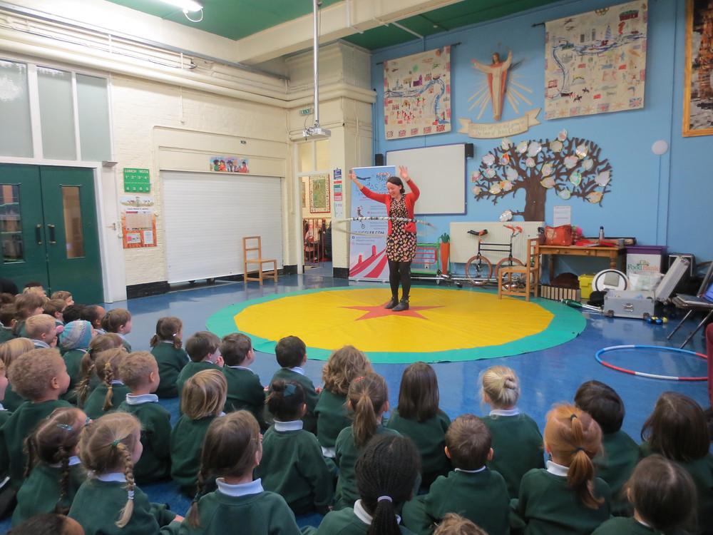 london schools circus day