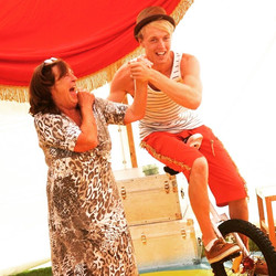 circus performers kids party