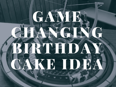 You won't believe the genius impact of this incredibly simple birthday cake!